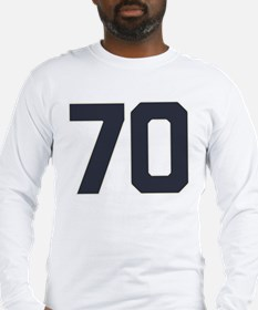 70 70th Birthday Long Sleeve T-Shirt