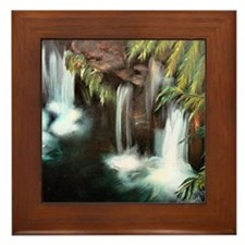 Waterfall Framed Tile