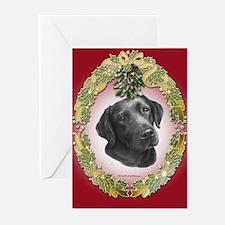 Black/Chocolate Lab Christmas Cards (Pk of 20)