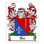 Ilin Family Crest Small Poster