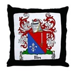 Ilin Family Crest Throw Pillow
