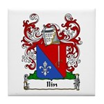Ilin Family Crest Tile Coaster