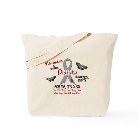 Diabetes Awareness Month 2.1 Tote Bag