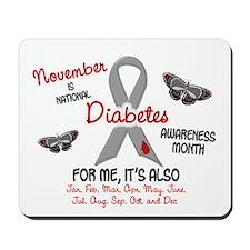 Diabetes Awareness Month 2.1 Mousepad
