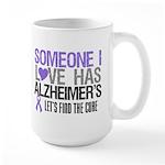 Someone I Love Has Alzheimer's Large Mug