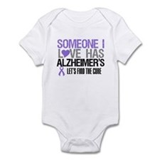 Someone I Love Has Alzheimer's Infant Bodysuit