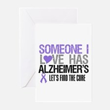 Someone I Love Has Alzheimer's Greeting Cards (Pk