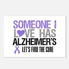 Someone I Love Has Alzheimer's Postcards (Package