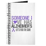 Someone I Love Has Alzheimer's Journal