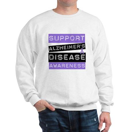 Support Alzheimer's Awareness Sweatshirt