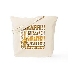Giraffe!! Tote Bag