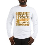 Giraffe!! Long Sleeve T-Shirt