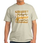 Giraffe!! Light T-Shirt