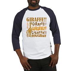 Giraffe!! Baseball Jersey