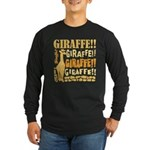 Giraffe!! Long Sleeve Dark T-Shirt