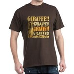 Giraffe!! Dark T-Shirt