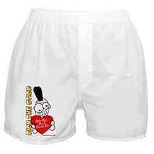 Cute Heart Boxer Shorts