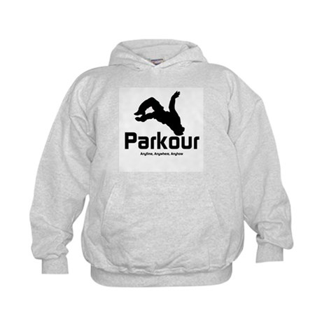 Parkour, Anytime Kids Hoodie