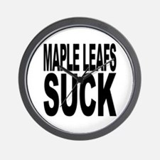 Maple Leafs Suck Wall Clock