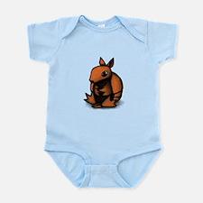 Sitting Armadillo Infant Bodysuit