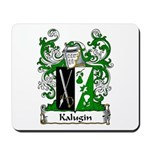 Kalugin Family Crest Mousepad