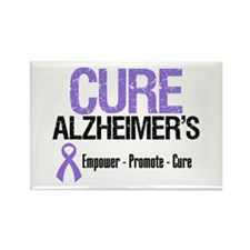 CURE Alzheimer's Rectangle Magnet