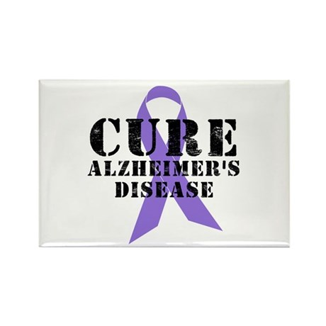 CURE Alzheimer's Rectangle Magnet (10 pack)