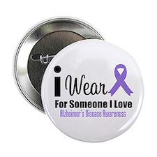 """I Wear Purple (Someone I Love) 2.25"""" Button"""