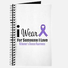I Wear Purple (Someone I Love) Journal