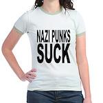 Nazi Punks Suck Jr. Ringer T-Shirt