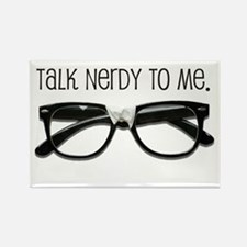 Talk Nerdy To Me<br> Rectangle Magnet (10 pack)