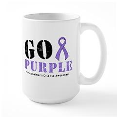 Go Purple Alzheimer's Mug