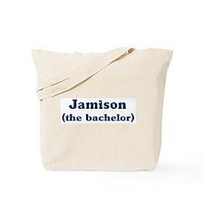 Jamison the bachelor Tote Bag