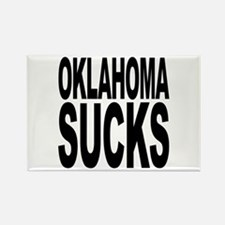 Oklahoma Sucks Rectangle Magnet
