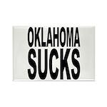 Oklahoma Sucks Rectangle Magnet (10 pack)
