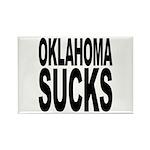 Oklahoma Sucks Rectangle Magnet (100 pack)