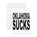 Oklahoma Sucks Greeting Card