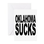 Oklahoma Sucks Greeting Cards (Pk of 10)