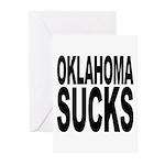 Oklahoma Sucks Greeting Cards (Pk of 20)
