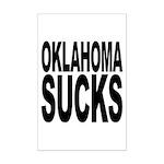 Oklahoma Sucks Mini Poster Print