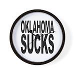 Oklahoma Sucks Wall Clock