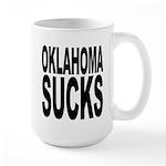 Oklahoma Sucks Large Mug