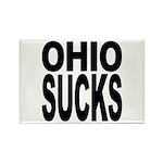 Ohio Sucks Rectangle Magnet