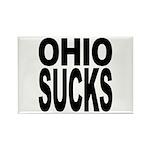 Ohio Sucks Rectangle Magnet (100 pack)