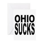 Ohio Sucks Greeting Card