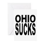 Ohio Sucks Greeting Cards (Pk of 10)