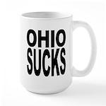 Ohio Sucks Large Mug