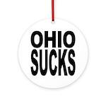 Ohio Sucks Ornament (Round)