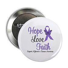 """Alzheimer's Hope 2.25"""" Button (10 pack)"""