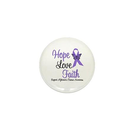 Alzheimer's Hope Mini Button (10 pack)